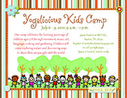 Yogalicious Kids Camp